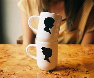 vintage, mug, and cup image
