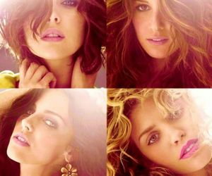 beautiful, eyes, and lips image