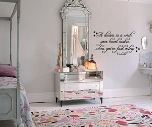 Dream, wall decal, and disney quote image