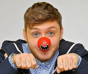james arthur, james, and red nose day image