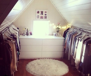 room, clothes, and closet image
