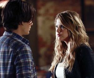 pretty little liars, hanna marin, and caleb rivers image