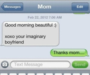 mom, boyfriend, and funny image