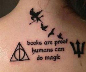 books, Tattoos, and percy jackson image