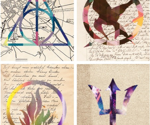 symbols, the hunger games, and percy jackson image