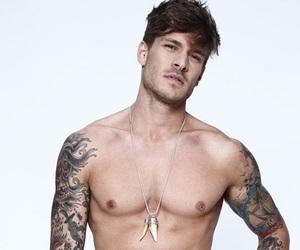 tattoo, Hot, and man image