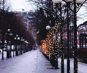 lights, street, and city image
