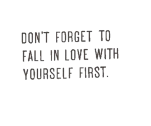 love, yourself, and fall in love image