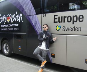 boy, bus, and pretty image