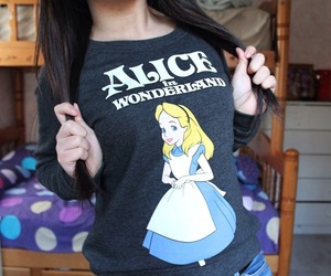alice in wonderland, fashion, and girl image