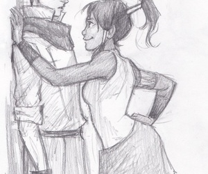 mako, korra, and avatar image