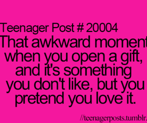 gift, teenager post, and pretend image