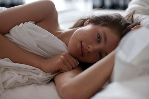arms, Emily Didonato, and bed image