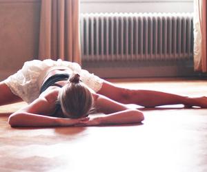 dance, girl, and gymnast image