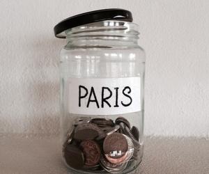 paris, money, and travel image