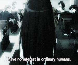anime, human, and ordinary image