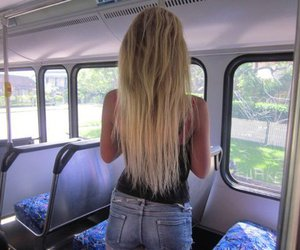 bitch, black, and blonde image