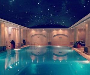 pool, luxury, and stars image