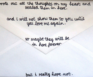 love, Letter, and heart image