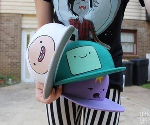 adventure time, cap, and finn image