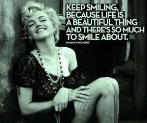 beautiful, life, and marilyn image