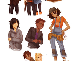 percy jackson, heroes of olympus, and leo valdez image