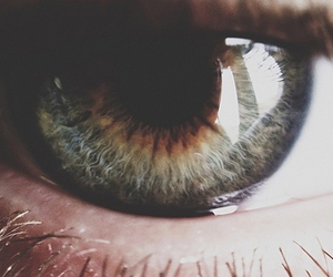 eye, green, and hipster image