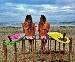 playa, summer, and surf image