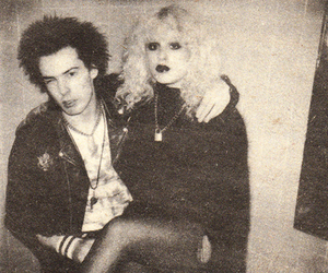 Nancy Spungen, sid and nancy, and sid vicious image