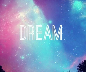Dream, galaxy, and wallpaper image