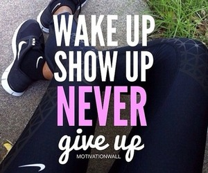 motivation, never give up, and fitness image