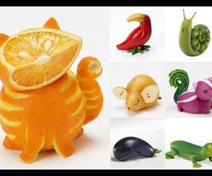fruit, animal, and food image