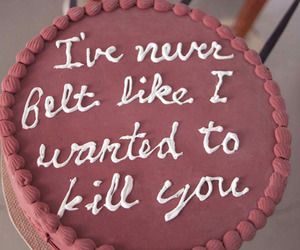 cake, funny, and love image