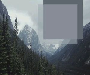 blue, mountains, and textures image