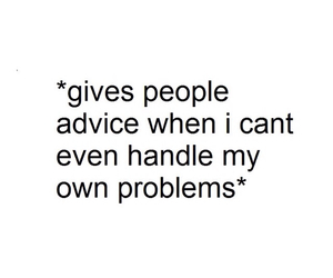 problems and advice image