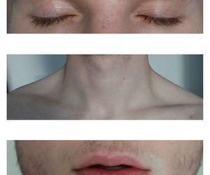 boy, eyes, and lips image
