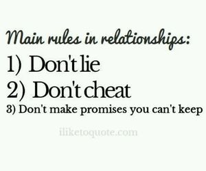 promise, Relationship, and rules image