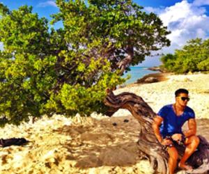 férias, aruba, and sem camisa image