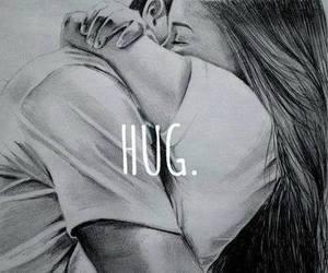 hug, love, and boy image