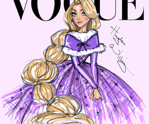 vogue, disney, and rapunzel image