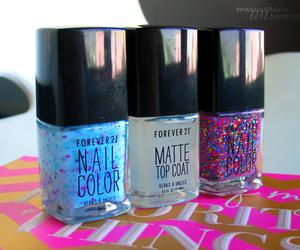 nails, girly, and polish image