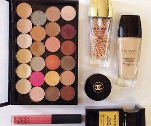 make up, chanel, and makeup image