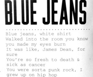 blue jeans, indie, and music image