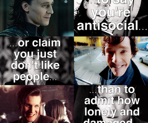 dr. who and loki image