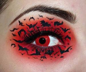 Halloween, make up, and makeup image