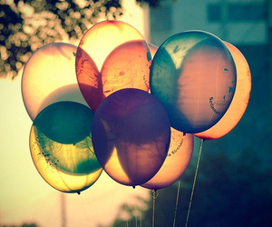 balloons, decoration, and colorful image