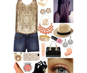 combo, coral, and gold image