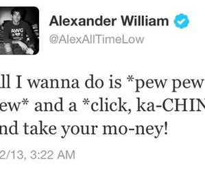 all time low, bands, and alex gaskrath image