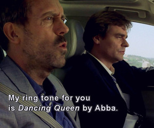 Abba, dancing queen, and house image