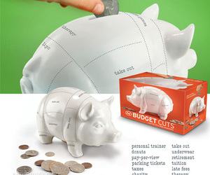 Bank, pig, and porco image